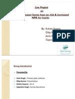 Effect of teaser home loan on risk & increased NPA for banks