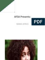 African Women Slide