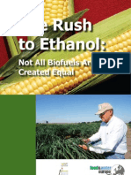 The Rush to Ethanol