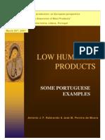 Low Humidity Meat Products 26042001 FMV produtos cárneos humidade reduzida