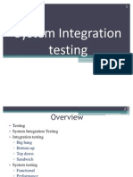 System Integration Testing in software Quality