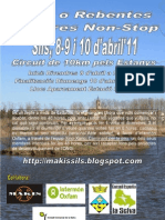 Programa Cako o Rebentes 2011
