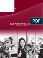 Bafl Annual Report 2009-10