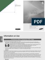 Samsung LEB550 Manual