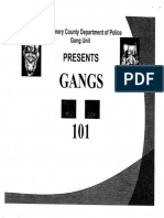 Gangs 101 Power Point Presentation (Montgomery County Police)