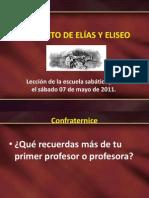 EL MANTO DE ELÍAS Y ELISEO
