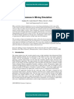 Advances in Mining Simulation