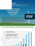 AWEA first quarter wind energy review