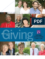 Guide for Giving