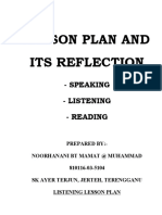 Lesson Plan and Reflection