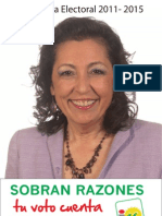 Prog Electoral IU El Puerto de Santa María 2011