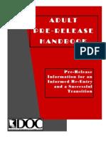 Pre Release Handbook Final Draft 2010 01