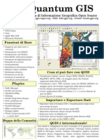 Qgis-1.0.0 2-Sided Brochure It