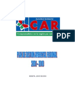 Plan de Gestion Ambiental Regional PGAR 2001-2010