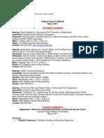 Public Policy Update 5-6-11
