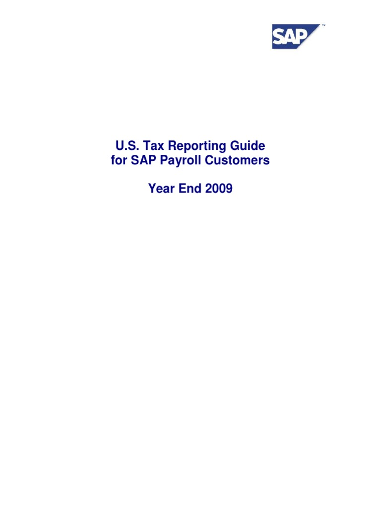 Tax Reporter Guide_2009   Payroll   Taxes