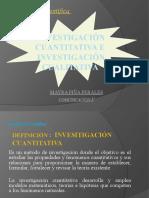 Investigación cualitativa e investigacion cuantitativa