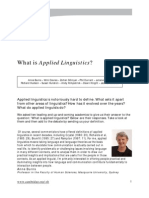 Article What is Applied Linguistics 1