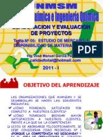 SEMESTRE 2011 - I -  PROYECTO - SEMANA Nº 05