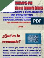 SEMESTRE 2011 - I -  PROYECTO - SEMANA Nº 04