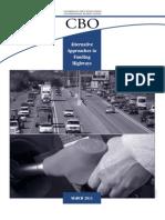 Alternative Highway Funding