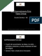 Fases Emprendimiento