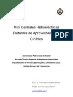 Mini Centrales Hidroelecricas Flotantes de Aprovechamiento c