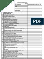 análise de EIA - Formulário