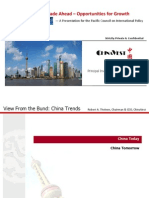 ChinaVest Pacific Council Presentation