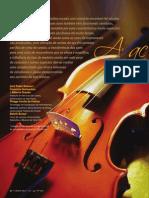 A acústica do violino