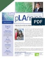 Planning Dept Newsletter