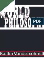 World Philosophy