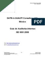 Indice - Guía Auditorias Internas ISO 9K - Rev. 0 - Marzo-2011
