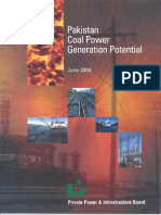 Coal Potential in Pakistan