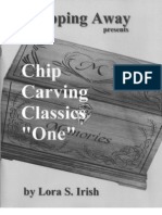 WOOD SHOP - Chip Carving Classics One