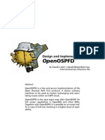 OpenOSPFD - Paper