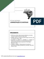 Administração de Materiais_aula 1
