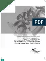 Plan Nacional de Ciencia, Tecnología e Innovación 2011-2014 para Costa Rica