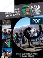 Haka Tours - New Zealand Adventure and Snow Tours Brochure