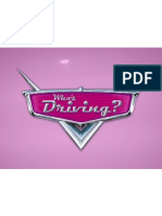 Who's Driving - Sermon Title - Pink