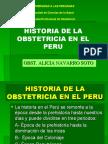 Historia de La Obstetricia en El Peru-u