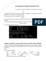 añadir disco ubuntu