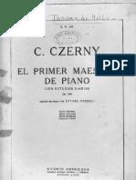 Carl Czerny - 1o Mestre de Piano