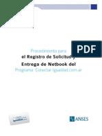 Procedimiento para el Registro de Solicitud y Entrega de Netbooks Conectar Igualdad - (Versión anterior) - Ver Manual de Directivos