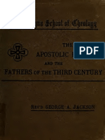 Jackson. The Apostolic fathers ; and, The Fathers of the third century. 1882.