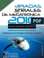 II Olimpiadas ales Mecatronica 2010 Pe