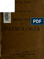 Franceschini. Manuale di patrologia. 1919.