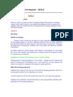 Human Resource Development_assignment