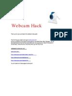 Web Cam Hack Guide