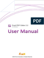 Fox It PDF Editor 22 Manual